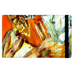Dscf1503   With Themis On A Shade Apple Ipad 2 Flip Case by bestdesignintheworld