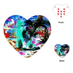 Dscf3313   Jerusalem   Gates Of Haven Playing Cards (heart)  by bestdesignintheworld