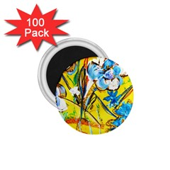 Dscf1422   Country Flowers In The Yard 1 75  Magnets (100 Pack)  by bestdesignintheworld