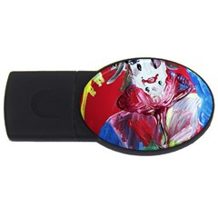 Dscf1741   Funny Clown Usb Flash Drive Oval (2 Gb) by bestdesignintheworld