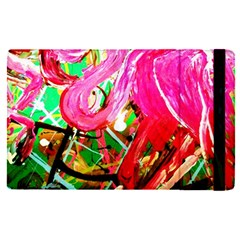 Dscf2035   Flamingo On A Chad Lake Apple Ipad Pro 9 7   Flip Case by bestdesignintheworld