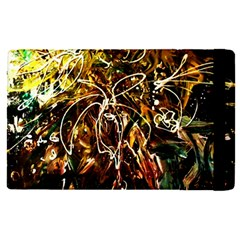 Dscf3438   Golden Flowers In Ceramics Apple Ipad Pro 9 7   Flip Case by bestdesignintheworld