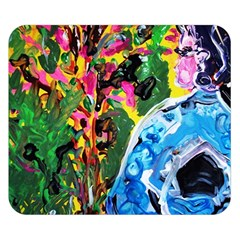 Dscf1611   Lady In Kimono And Tulip Tree Double Sided Flano Blanket (small)  by bestdesignintheworld