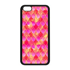 Squama Fhis Paint Flower Of Life Pattern Apple Iphone 5c Seamless Case (black) by Cveti