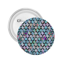 Rhomboids Flower Of Life Paint Pattern 2 25  Buttons by Cveti