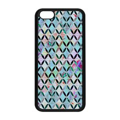 Rhomboids Flower Of Life Paint Pattern Apple Iphone 5c Seamless Case (black) by Cveti