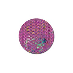 Flower Of Life Paint Purple  Golf Ball Marker (4 Pack) by Cveti