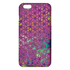 Flower Of Life Paint Purple  Iphone 6 Plus/6s Plus Tpu Case by Cveti