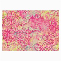 Flower Of Life Paint Pattern 08jpg Large Glasses Cloth by Cveti