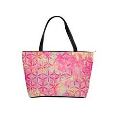 Flower Of Life Paint Pattern 08jpg Shoulder Handbags by Cveti