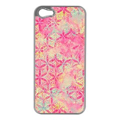 Flower Of Life Paint Pattern 08jpg Apple Iphone 5 Case (silver) by Cveti