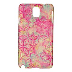 Flower Of Life Paint Pattern 08jpg Samsung Galaxy Note 3 N9005 Hardshell Case by Cveti