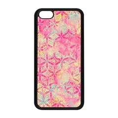 Flower Of Life Paint Pattern 08jpg Apple Iphone 5c Seamless Case (black) by Cveti