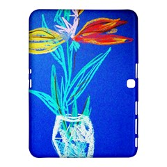 Dscf1451   Birds If Paradise In A Cristal Vase Samsung Galaxy Tab 4 (10 1 ) Hardshell Case  by bestdesignintheworld