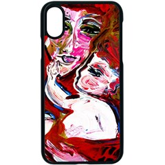 Dscf1554   Madonna And Child Apple Iphone X Seamless Case (black)