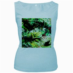 In The Nest And Around 4 Women s Baby Blue Tank Top by bestdesignintheworld