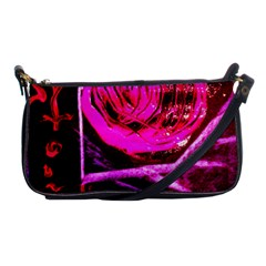 Calligraphy 2 Shoulder Clutch Bags by bestdesignintheworld