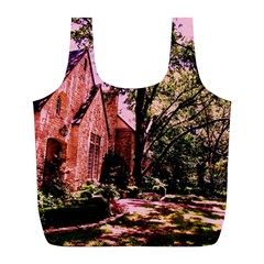 Hot Day In  Dallas 6 Full Print Recycle Bags (l)  by bestdesignintheworld