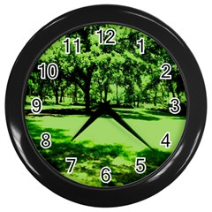 Lake Park 13 Wall Clocks (black) by bestdesignintheworld