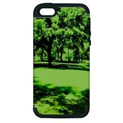 Lake Park 13 Apple Iphone 5 Hardshell Case (pc+silicone) by bestdesignintheworld
