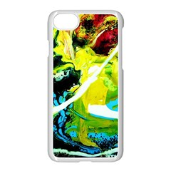 New Moon 6 Apple Iphone 7 Seamless Case (white)
