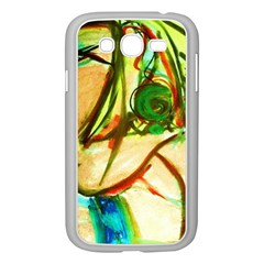 Girl In A Blue Tank Top Samsung Galaxy Grand Duos I9082 Case (white) by bestdesignintheworld