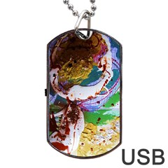 Doves Matchmaking 11 Dog Tag Usb Flash (two Sides) by bestdesignintheworld