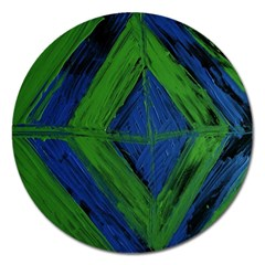 Point Of Equilibrium 5 Magnet 5  (round) by bestdesignintheworld