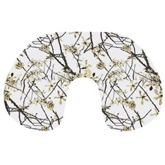 Nature Graphic Motif Pattern Travel Neck Pillows by dflcprints