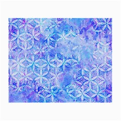 Flower Of Life Paint Pattern 8jpg Small Glasses Cloth by Cveti