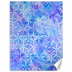 Flower Of Life Paint Pattern 8jpg Canvas 36  X 48   by Cveti