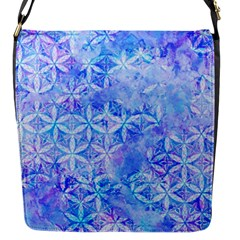 Flower Of Life Paint Pattern 8jpg Flap Messenger Bag (s) by Cveti
