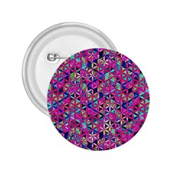 Flower Of Life Paint Pattern 10 2 25  Buttons by Cveti