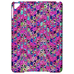 Flower Of Life Paint Pattern 10 Apple Ipad Pro 9 7   Hardshell Case by Cveti