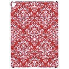 Damask1 White Marble & Red Denim Apple Ipad Pro 12 9   Hardshell Case by trendistuff