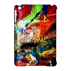 Untitled Red And Blue 3 Apple Ipad Mini Hardshell Case (compatible With Smart Cover) by bestdesignintheworld
