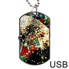 Wet Kiss 2 Dog Tag Usb Flash (one Side) by bestdesignintheworld
