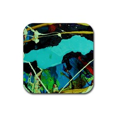 Roundway Ticket 4 Rubber Square Coaster (4 Pack)  by bestdesignintheworld