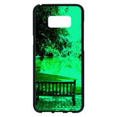 Lake Park 20 Samsung Galaxy S8 Plus Black Seamless Case by bestdesignintheworld