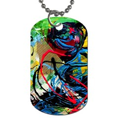 Rumba On A Chad Lake 4 Dog Tag (two Sides) by bestdesignintheworld