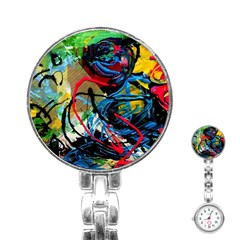 Rumba On A Chad Lake 4 Stainless Steel Nurses Watch by bestdesignintheworld
