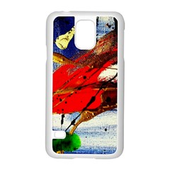 Catalina Island Not So Far 1 Samsung Galaxy S5 Case (white) by bestdesignintheworld
