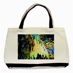 Light Of Candles Chandellier 8 Basic Tote Bag by bestdesignintheworld
