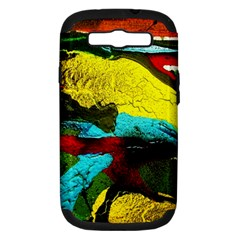 Yellow Dolphins   Blue Lagoon 3 Samsung Galaxy S Iii Hardshell Case (pc+silicone) by bestdesignintheworld
