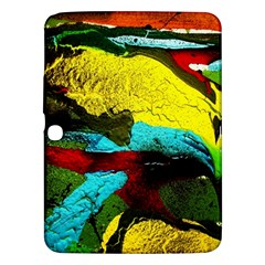 Yellow Dolphins   Blue Lagoon 3 Samsung Galaxy Tab 3 (10 1 ) P5200 Hardshell Case  by bestdesignintheworld