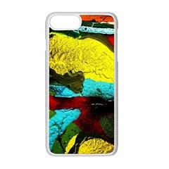 Yellow Dolphins   Blue Lagoon 3 Apple Iphone 8 Plus Seamless Case (white)