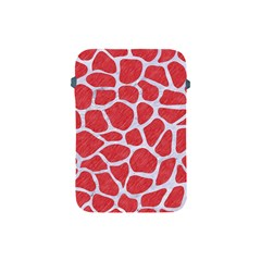 Skin1 White Marble & Red Colored Pencil (r) Apple Ipad Mini Protective Soft Cases by trendistuff