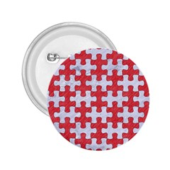 Puzzle1 White Marble & Red Colored Pencil 2 25  Buttons by trendistuff