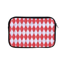 Diamond1 White Marble & Red Colored Pencil Apple Macbook Pro 13  Zipper Case by trendistuff