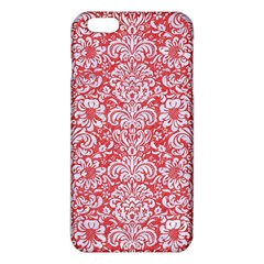 Damask2 White Marble & Red Colored Pencil Iphone 6 Plus/6s Plus Tpu Case by trendistuff